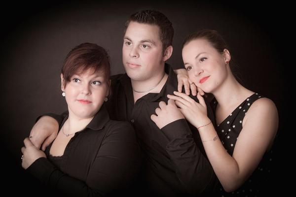 Familien Fotoshootig Geschwister