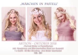 Märchen in pastell by © www.bilifotos.ch Oktober 2018 Pastell Shooting Aktion Luzern Fotostudio