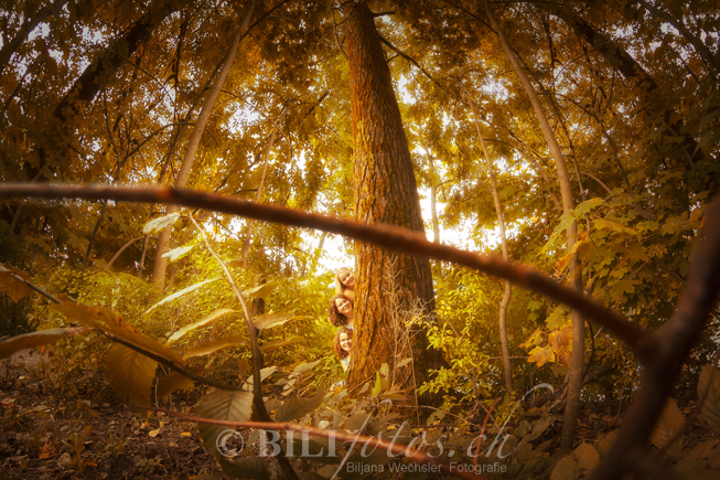 Bilifotos.ch Maedels Outdoor shooting natur herbst