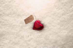 Valentinstag, Herz im Schnee ©bilifoto.ch
