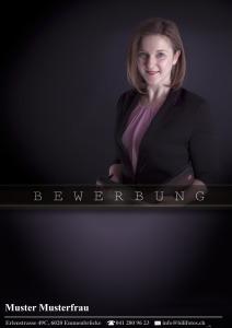 event managerin Deckblatt ©Bilifotos.ch Bewerbung Design - Business
