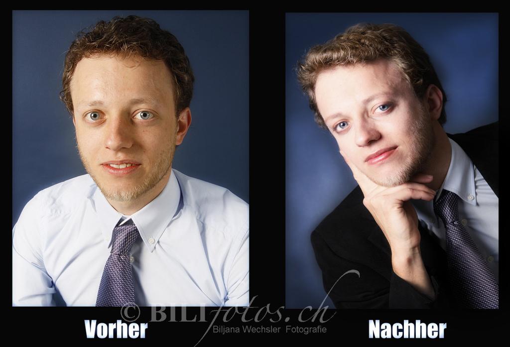 Bewerbungsfoto Anwalt FS inkl MakeUp & Hairstyling & Haarstyling vorher_nachher_bew2