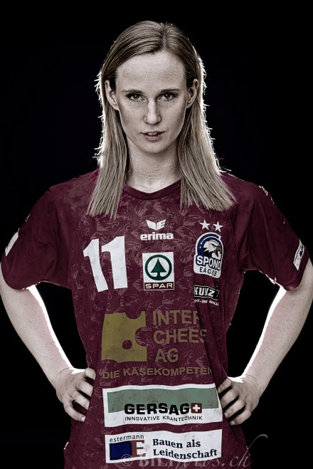Carina Aselmeyer Handball Charakterportrait Bilifotos.ch