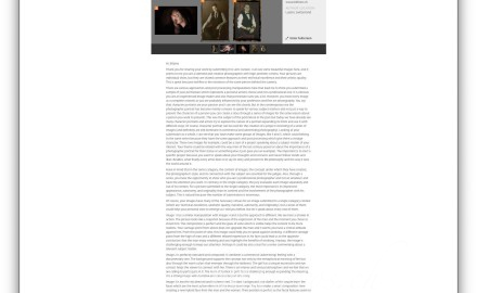 new york gallery lensCulture reviewer feedback