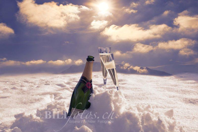 Nachher Champagner Beispiel Vorher Nachher